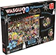 Jumbo Games Wasgij Mystery Junior Two Halloween Jigsaw Puzzle (100-Piece)