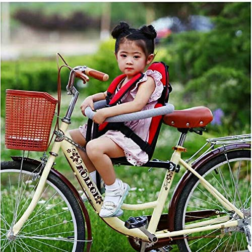 Joyfitness Fahrrad Kindersitz Elektroauto Baby Vorne Faltrad Kind Rundum Schnellverschluss Sitz,color3,45x20x22cm