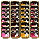 Animonda Vom Feinsten Adult, Nassfutter für ausgewachsene Katzen,  Schwein + Leber, 32 x 100 g