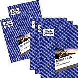 5er Sparbundle Avery Zweckform 223 Fahrtenbuch für PKW (A5, 40 Blatt) weiß