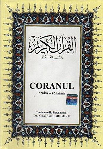 CORANUL, rumänisch / arabischer Koran gebunden im A5 -format mit Umschlaghülle
