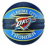 Spalding NBA Team Oklahoma City Ball Basketball, Mehrfarbig, 7