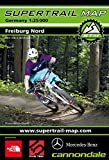 Supertrail Map Freiburg Nord: Maßstab 1:25 000