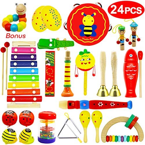 Vykor Musical Toys Wooden Musica...