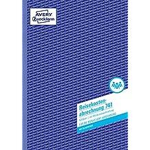 AVERY Zweckform 741 Reisekostenabrechnung (A4, mit 1 Blatt Blaupapier, 50 Blatt) weiß
