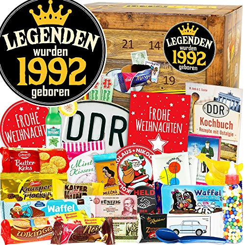 Legenden wurden 1992 geboren - DDR Box - DDR Advent Kalender