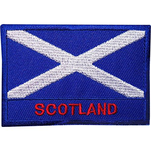 Bandera Escocia bordado Sew hierro parche camiseta
