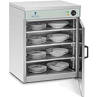 Royal Catering Chauffe-Assiettes Armoire Chauffante pour 120 Assiettes RCWS-60 (53x60x76,5cm, 1.200W, ø assiettes 27 cm…