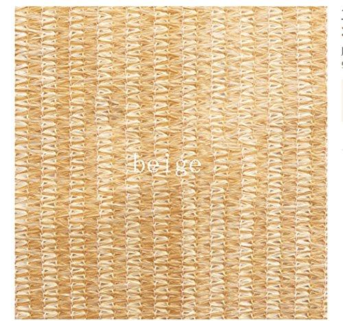 Preisvergleich Produktbild 3.6 * 3.6m Anti-UV Manuelle Markise-Outdoor-Markise Shelter-Multicolor , beige