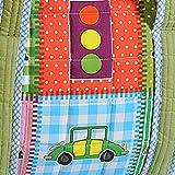 Yuga Trendy Digitaldruckwickeltasche für Mamas mit 3 Taschen Wasserdicht Innenstepp 12 x 16 x 8 Zoll - 2