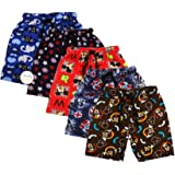 Trendy Dukaan� Boys Printed Half Pants - Pack of 5 (Colour and Design May Vary)