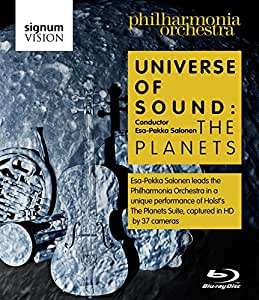 Universe of Sound - Holst: The Planets; Talbot: Worlds, Stars, Systems, Infinity (Philharmonia Orchestra/Esa-Pekka Salonen) [Blu-ray] [Region Free] [NTSC]