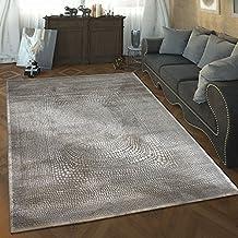 Amazon.it: tappeti moderni soggiorno 160x230 - Bianco