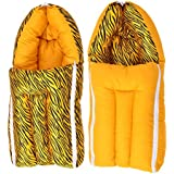 Get It Dual Pattern Baby Boy's and Girl's Sleeping Bag (Yellow)