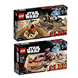 Lego Star Wars 2er Set 75174 75173 Desert Skiff Escape + Luke's Landspeeder