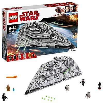 Les enfants vont être embarqués dans des aventures inspirées du film Star Wars: Episode VIII galactiques avec le Star Destroyer du Premier Ordre. Ce modèle imposant présente des panneaux blindés à l'extérieur, des détails de moteur transparents à l'a...