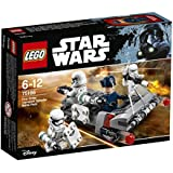 LEGO - 75166 -  Star Wars - Jeu de Construction - Pack de combat le Speeder de transport du Premier Ordre
