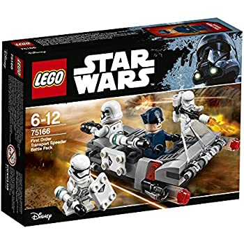 LEGO 75166 - Star Wars Tm, Battle Pack Speeder da Trasporto del Primo Ordine
