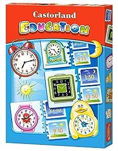 CASTORLAND Puzzle Education. Time Puzle CSE067