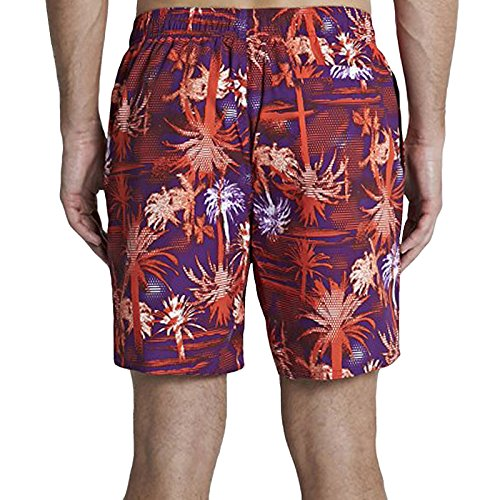 Speedo Herren Badeshorts Printed Leisure 18 Zoll Watershorts, 8-09675A348 Purple/Red