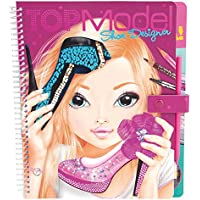 Top Model 007987 - Cuaderno para colorear motivo Shoe designer