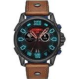 Diesel Full Guard 2.5 Men's Multicolor Dial Leather Digital Smartwatch - DZT2009