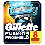 Gillette Fusion ProShield Chill Men's Razor Blades, Pack of 8 Refills