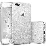 667df946554 Funda iPhone 7 Plus, ESR Funda Case Carcasa Dura Brillante Brillo Purpurina  llamativa para Apple