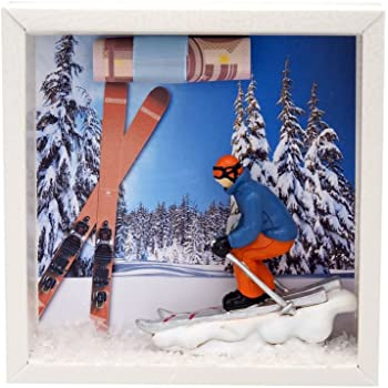zauberdeko geldgeschenk verpackung ski fahren winterurlaub. Black Bedroom Furniture Sets. Home Design Ideas