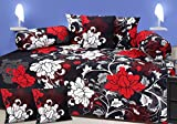 #8: MJJ Home 120 TC Diwan set with 5 Cushion Covers and 2 Bolsters and single Bed sheet,floral