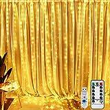 Best Arboles de navidad - BrizLabs Cortina de Luces LED 3m x 3m Review