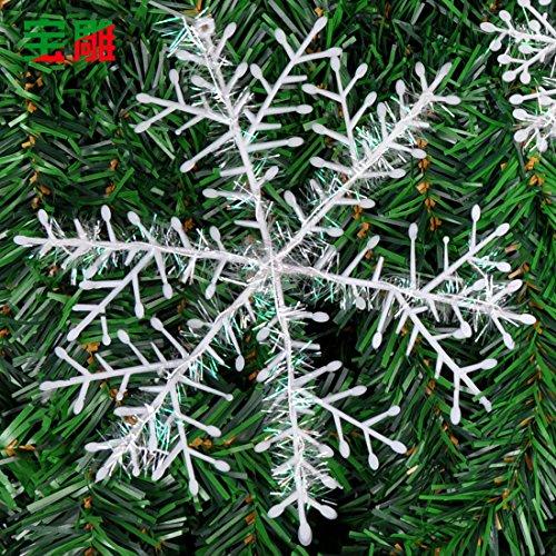 Weihnachten Weihnachten Schneeflocke Chip liefert Christbaumschmuck aufhängen Garland Chip