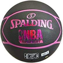 half off dd59a 323e5 Spalding NBA Highlight Ballon de Basket Femme