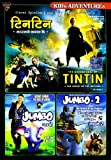 Kids Adventures (Set of 3 DVDs- Tintin t...