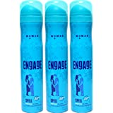 Engage Women's Bodylicious Deodorant Spray Spell (165ml)-Pack of 3