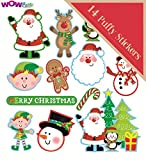 WOW Christmas Puffy Self Adhesive Sticker Pack