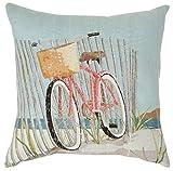 vintage cap Nantucket Bike #6023W 18 x 18 Pillow Case Home Decor Cushion Cover