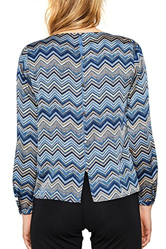 ESPRIT Collection Damen Bluse Blau (Bright Blue 410)