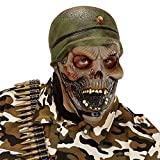 Widmann 00397 - Zombie Máscara Soldado para adultos
