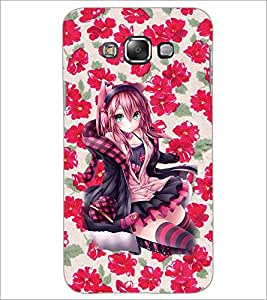 PrintDhaba Sexy Girl D-1096 Back Case Cover for SAMSUNG GALAXY A7 (Multi-Coloured)