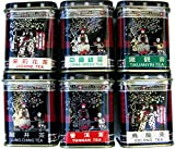 Taster Set of six 17g caddies of authentic China mini teas. Oolong