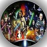 Fondant Tortenaufleger Tortenbild Geburtstag Star Wars T27