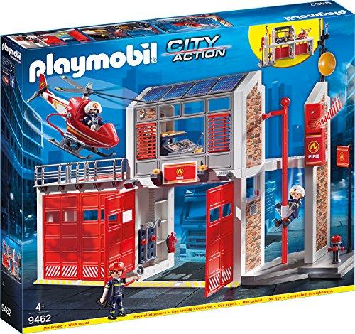 feuerwehr playmobil 5362 PLAYMOBIL 9462 Spielzeug-Große Feuerwache