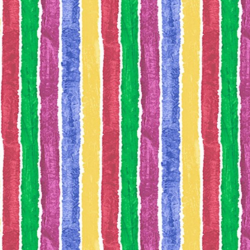 Raupe Nimmersatt–Multi Stripe (Raupe Nimmersatt Stoff)