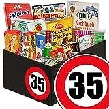 35. Geburtstag   DDR Geschenk   mit Viba Nougat Stange, Mokkabohnen und mehr   GRATIS DDR Kochbuch   Süße Geschenke