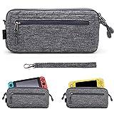 Sisma Slim Tasche für Nintendo Switch, Kompatibel mit Switch Lite Konsole, Grau