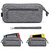 Sisma - Funda compacta para Nintendo Switch - Compatible con la consola Nintendo Switch Lite - Estuche de transporte, color gris