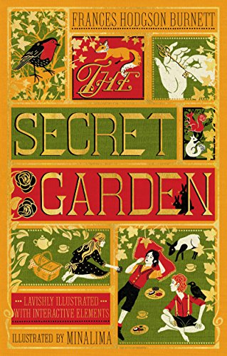 The Secret Garden (Illustrated with Interactive Elements) (Illustrated Classics) -