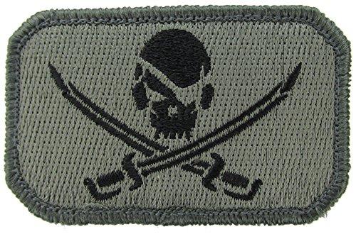 Pirat Skull Totenkopf Moral Patch (ACU (dunkel)) -