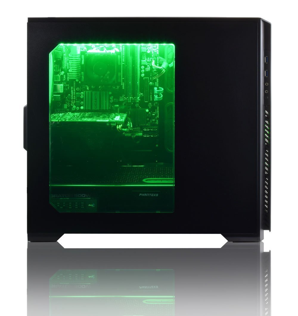 ADMI ULTRA GAMING PC - AMD FX-8350 High Spec Green LED, Home, Family,  Multimedia Desktop Gaming Computer with Platinum Warranty: Powerful AMD  4 0Ghz